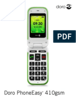 Doro Phone Easy 410gsm manual
