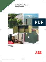 Transformador Pad Mounted ABB