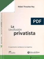 Privatizaciones en la Argentina en los ´90