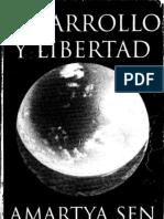 Amartya Sen - Desarollo y libertad -  Introdução e Capitulo 8 - La agencia de la Mujeres