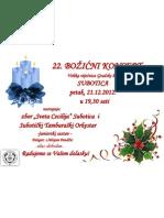 plakat božić 2012