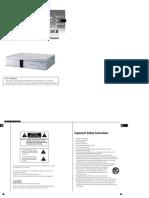 Samsung SHR-1010 User's Manual