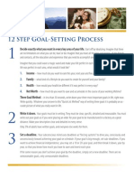 12 Step Goal Setting Process