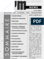 GYM NEWS N°26 Juillet 1993