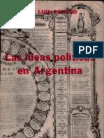 Las ideas políticas en Argentina. JOSE LUIS ROMERO