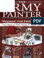 Army Paiting Guide