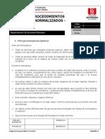 Anexo 46. Procedimiento Operativo Normalizado Para Atencion a Emergencias Quimicas.