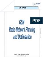 GSM Radio Planning and Optimization