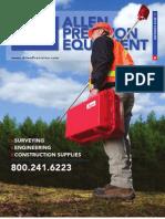 Allen Precision Equipment Catalog