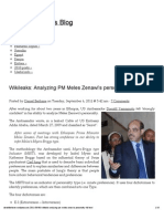 Wikileaks_ Analyzing PM Meles Zenawi's personality [full text] « Danielberhane's Blog