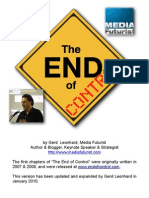 The End of Control - Summary (Gerd Leonhard)