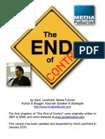 The End of Control - Summary (Gerd Leonhard)