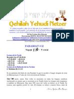 Parashat Vayeji # 12 Adul 6013