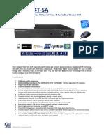 Catalogo DVR5004T SA