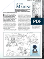 Warhammer 40K Evolution of the Space Marine