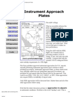 Instrument Approach Plates