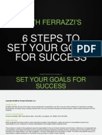 6 Steps to Set Your Goals for Success Refocus Your Life Goals and Your Career Goals Today
