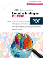 ISO 26000 Mgt Briefing