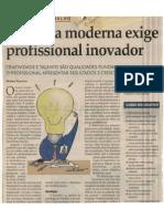 Empresa Moderna Exige Profissional Inovador - 08-06-04