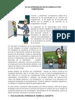 Modulo de Evaluacion de Los Aprendizajes en Un Curriculo Por Competencias