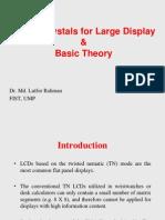 Lecture 2 of Liquid Crystals