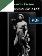 77979739 Marsilio Ficino the Book of Life Charles Boer Transl 1980
