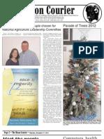 Bison Courier, December 27, 2012