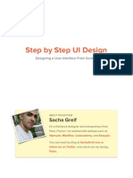 Step By Step UI Design