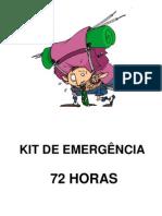 Apresentação KIT 72 HORAS - Emergencial