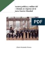 Estructura política y militar del Imperio Alemán