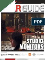 Studio Monitors Gear Guide 2013