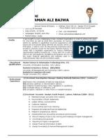 Zaman Bajwa CV