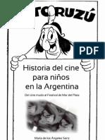 Historia del cine para niños en la Argentina