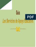Guia Los Servicios de Apoyo Educativo Sae