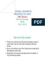<LAND LAW I> General Concepts Relating to Land [Compatibility Mode]