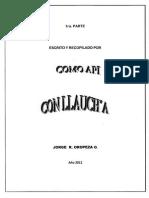 Como api con llauch´a. Jorge Oropeza Orellana