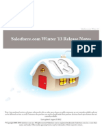 Salesforce.com Winter'13 Release Notes