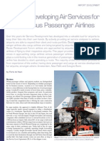 52 de Haan-Air Service Development for Cargo Versus Passengers1