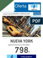 OFERTA VIAJE A NUEVA YORK