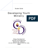 Developing Youth Ministry Student Course Book