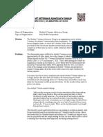 SVAG - Position Paper