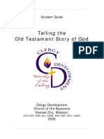 Telling the Old Testament Story of God Student Coursebook