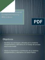 Medicina Tradicional, Complementaria y Alternativa