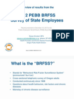 PEBB Survey 2012