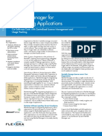 FlexNet Manager for Engineering Apps Datasheet