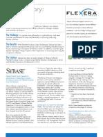 FlexNet Producer Suite Sybase Success Story