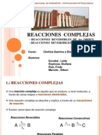 2.2 Reacciones_Complejas Reversibles 1er 2do y 3er Orden