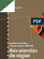 Ali Pajaziti-Rinia Universitare Dhe Religjioni