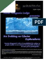 Hotel Patagonia Lodge Programa Glaciar Exploradores