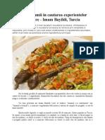In jurul lumii in cautarea experientelor culinare - Imam Bayildi, Turcia
